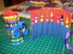 Crayon Roll up holds 8 crayons