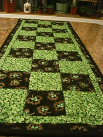 St. Patrick's Day Tablerunner