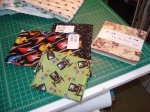 Charm Pack and Fat Quarters