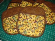 Sunflower Potholders (Copy)