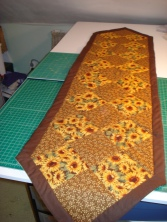 Sunflower Tablerunner