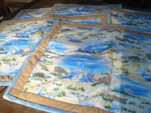 Adirondack chair Placemats