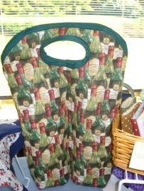 double wine bottle bag