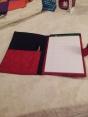 Notebook holder open (August)