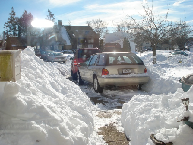 Cars Dug Out