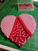 heart-potholder